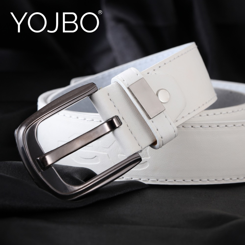YOJBO Adult Unisex Formal Belts For Women Belt Mens Luxury 2019 Designer High Quality Wide Waistband