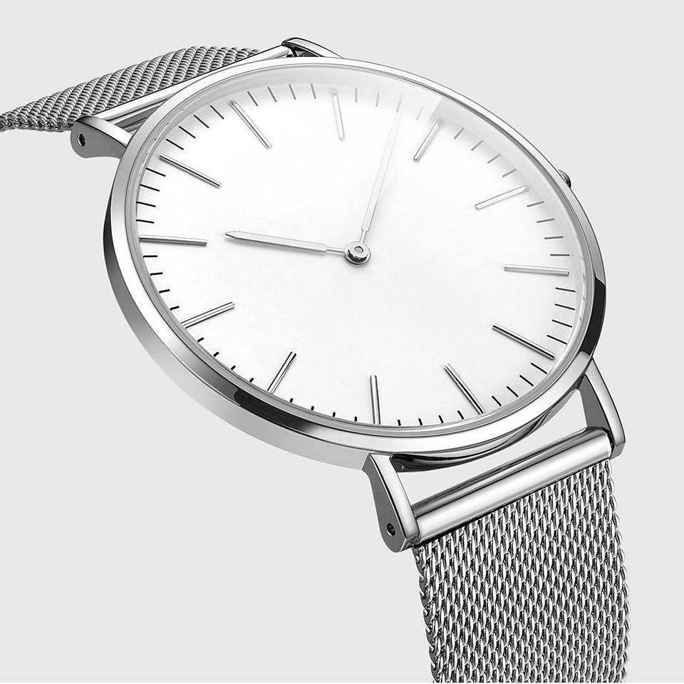 Original Xiaomi Mijia TwentySeventeen Series Quartz Watch Casual Business Wrist Watch Women Men Waterproof Couple Quartz Watch