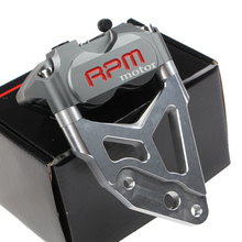 Wholesale The Rpm Brake Caliper With Adapter 200 220mm For 30mm Fastace Front Suspension L And R Universal For Yamaha Scooter Modify