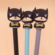 36 Pcs/lot Novelty Super Hero Batman Gel Pen Ink Promotional Gift Stationery School & Office Supply