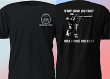 2019 Funny New Us Army Sniper Special Force Military Black T Shirt Double Side Unisex Tee