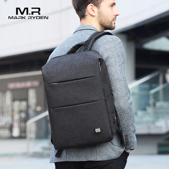 MarkRyden New Arrivals Men Backpack For 15.6inches Laptop Backpack Large Capacity Casual Style Bag Water Repellent Backpack laptop bag