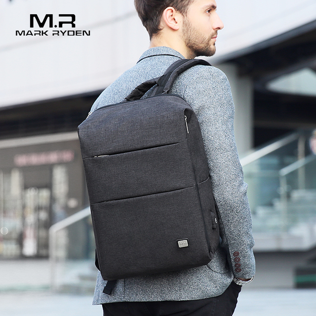 Mark Ryden New Men Backpack For 15.6 inches Laptop Backpack Large Capacity Stundet Backpack Casual Style Bag Water Repellent