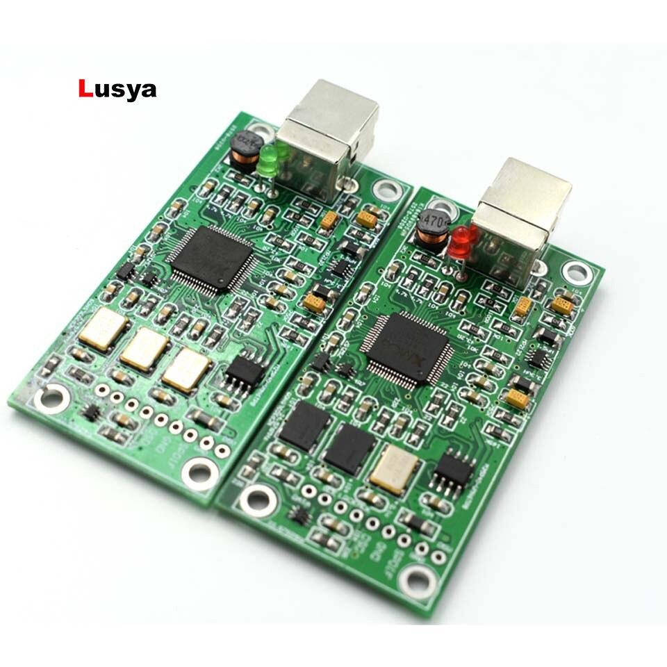 XMOS XU208 USB DAC 384 K 32B module I2S ISS SPDIF sortie, prise en charge DSD pour es9018 ES9028 ES9038PRO DAC hifi amplificateur A6-013
