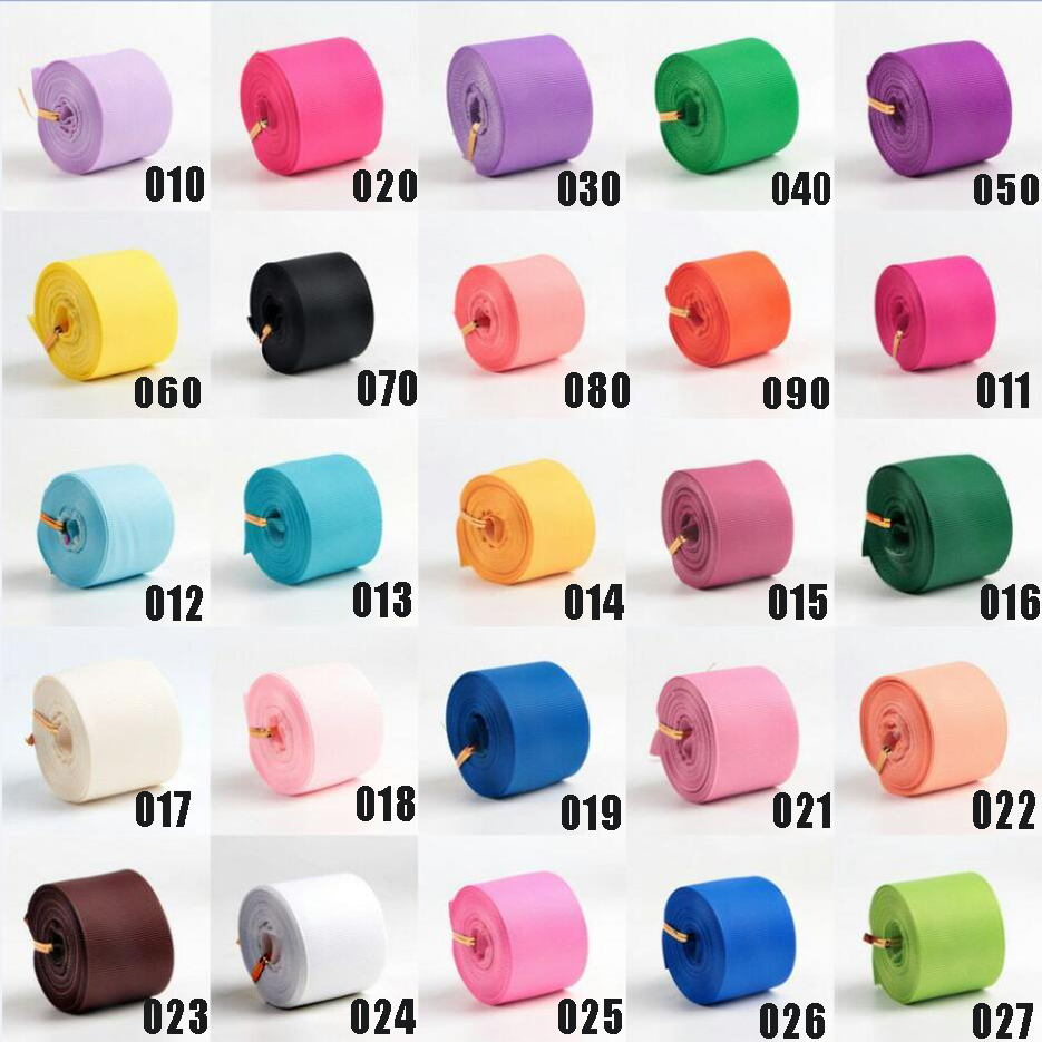 hyfsy 10037 1-1/2 <font><b>38mm</b></font> Plain <font><b>ribbon</b></font> 10 yards DIY handmade materials gift packaging headwear Hand-made tape Pure color grosgrai image