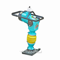 220V/380V Electric Rammer 3000W Tamping Rammer For Backfill Earth Rammer Of Construction Power Tools