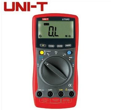 UNI-T UT60G UT-61G Digital Multimeter AC DC Volt Amp Ohm Capacitance Temp Hz Tester мультиметр uni t uni t ut71b alicate amperimetro ac dc