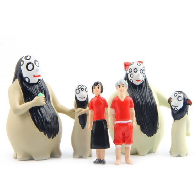 big fish begonia male and female no face ghost pvc action figures