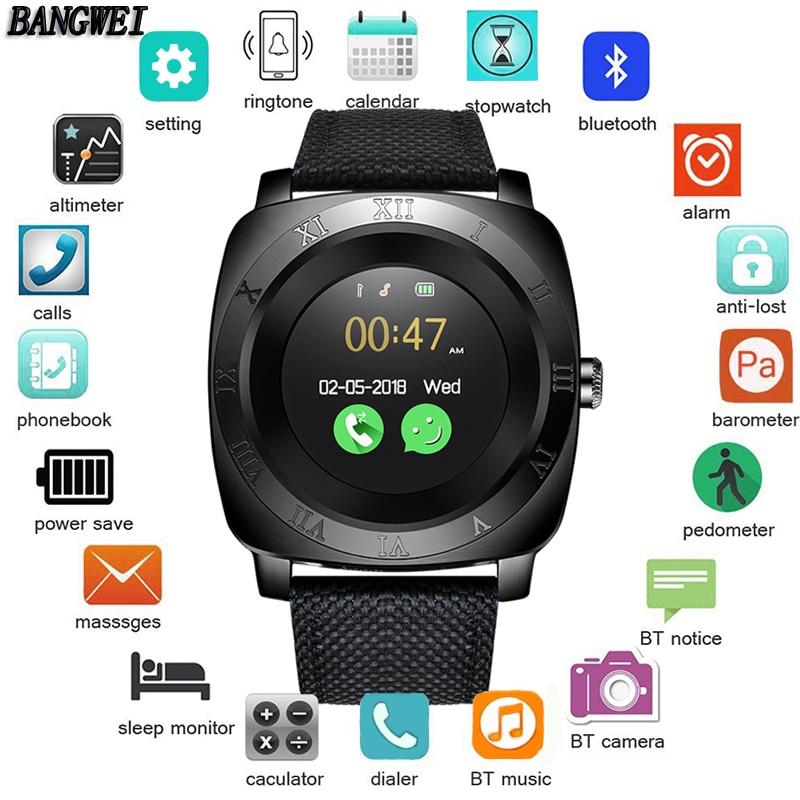 2018 Uomini E Donne di Sport Intelligente Orologio Contapassi Fitness IP67 Impermeabile smartwatch OLED Touch Screen a Colori Reloj inteligente