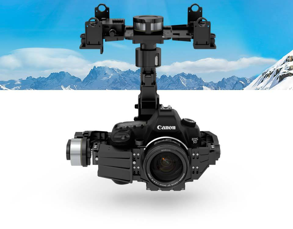 Original Zenmuse Z15-5D III / Z15 5D Mark III 5D3 HD Brushless Gimbal High Definition Perfect Stability for S800 S900 S1000