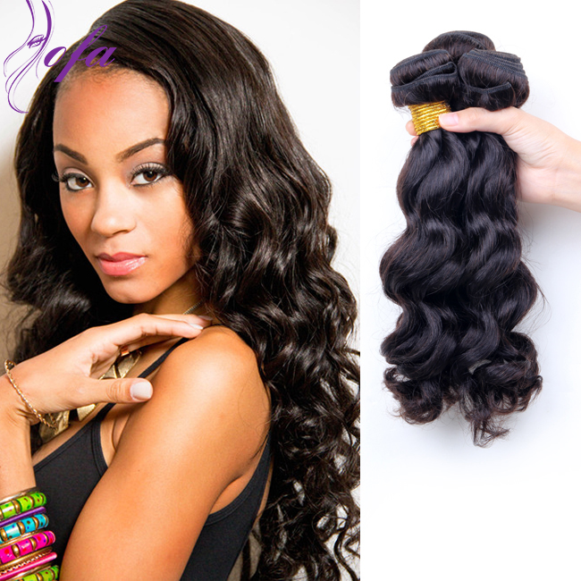 Indy Loose Wave Human Hair Weave Indian Remy Hair Brands Indian Wavy