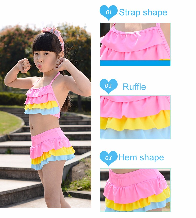 sunny eva girls swimwear floral 17 bathing suits kids girl swimwear swimsuit girls kids designer baby swimwear bathing cap 4