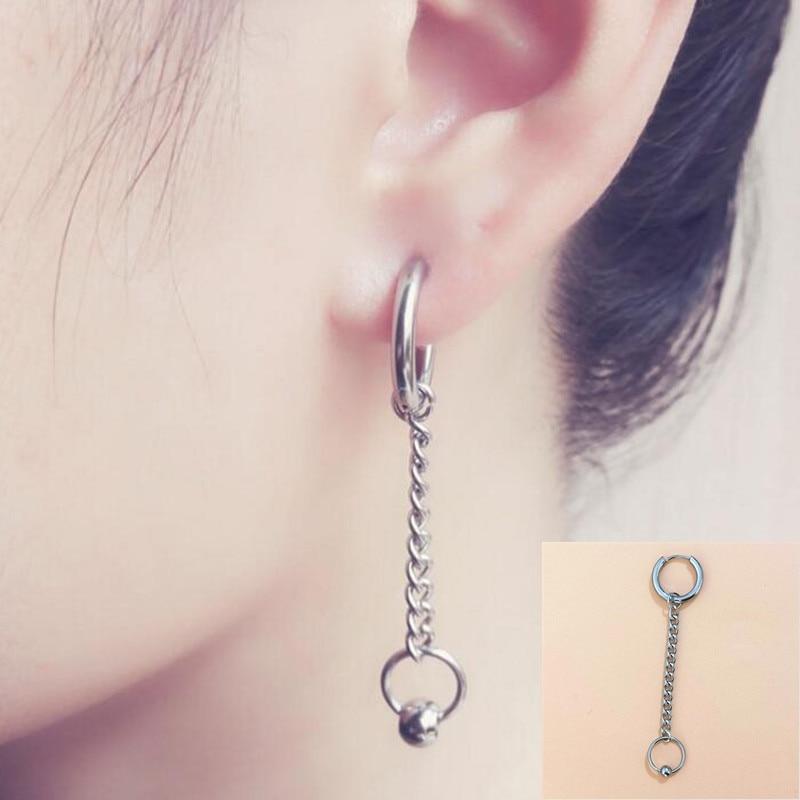 1pcs Pop Jewelry Korean BTS Bangtan Boys Album V DNA Stud Earrings For Women Vintage Long Men Earrings Geometric hot sell