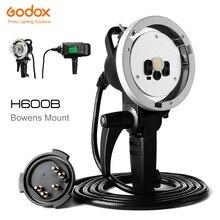 Montura Godox H600B Bowens para Flash estroboscópico inalámbrico AD600B AD600BM (montaje Bowens)