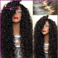 8A Curly Wigs Cheap Long Kinky Curly Full Lace Wig Virgin Mongolian Lace Front Wig Kinky Curly Human Hair Wigs For Black Women