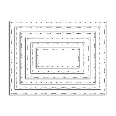 Aliexpress Com Buy Basic Pattern Rectangle Frames Metal