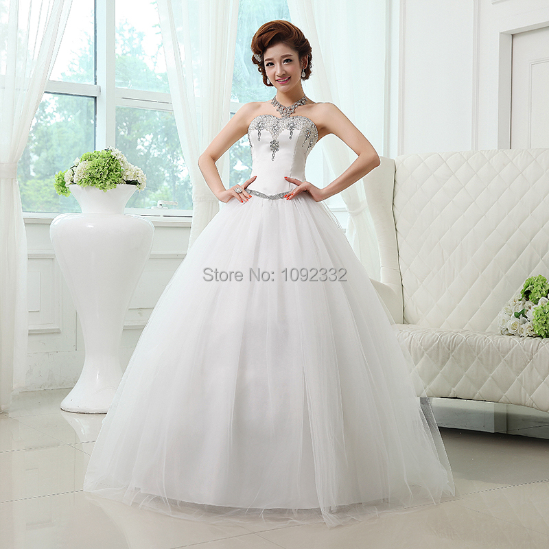 S 2016 New Stock Bridal Gown Plus Size Women Wedding Dress