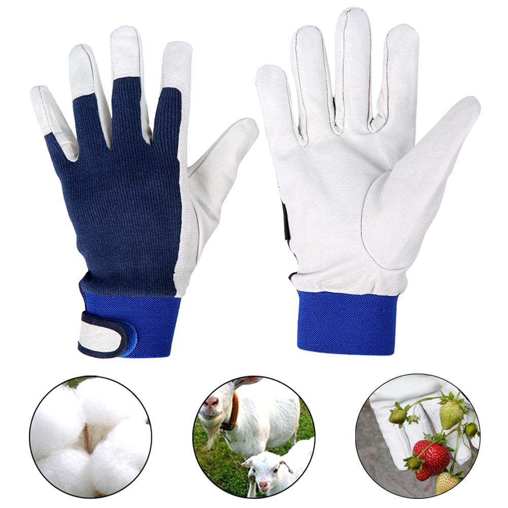 Artificial Sheepskin Safety Welding Household Tasks Labor Cut Proof Gardening Gift Protective Wear Resistant Work Gloves