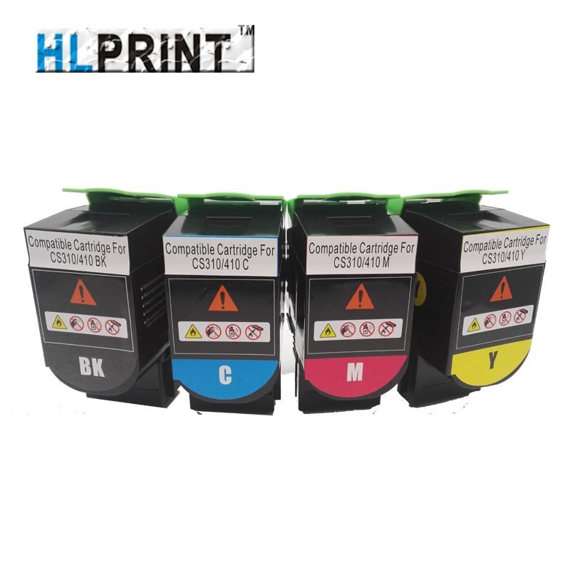70C8HK0 70C8HC0 70C8HM0 70C8HY0 Toner Cartridge Compatible Lex CS310n cs310dn CS410n cs410dn printer BK/M/C/Y 4PCS/SET new compatible toner cartridge for ricoh mpc2800 3300 3001 3501 4pcs 1set k m y c toner cartridge