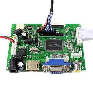 Image 3 - HDMI VGA 2AV LCD בקר לוח VS TY2662 V1 עבור 12.1 אינץ LQ121K1LG52 1280x800 LCD Scren