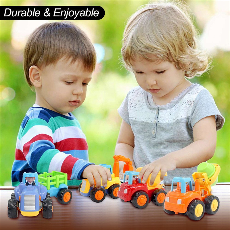 Durable 4 Variant Toy Vehicles