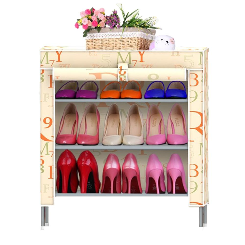 Shoe cabinet hign quality shoe storage Shoe racks shelf for shoes Non-woven  fabrics furniture
