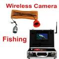 Беспроводной Системы Видео Рыбалка Камеры 1.2 Г приемник видео подводный проверка камеры видеонаблюдения 8 шт. СИД ИК Беспроводной искатель рыб камера