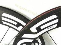 700c Cycling Road Bike Carbon Wheels High Quality 45mm 50mm 60mm 88mm Carbon Clincher Wheels Bike
