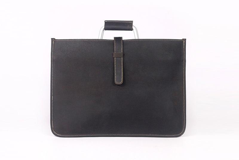 2019 nouveau style en cuir rectangle mince sac d'affaires sacs pour ordinateur portable de bureau-in Sacs à dos from Baggages et sacs    3