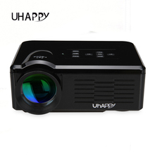 Uhappy bl35 hd1080p 800 lumens portátil mini projetores projetor levou full hd 640*480 usb/sd/vga/hdmi/av/micro usb/atv projetor(China (Mainland))