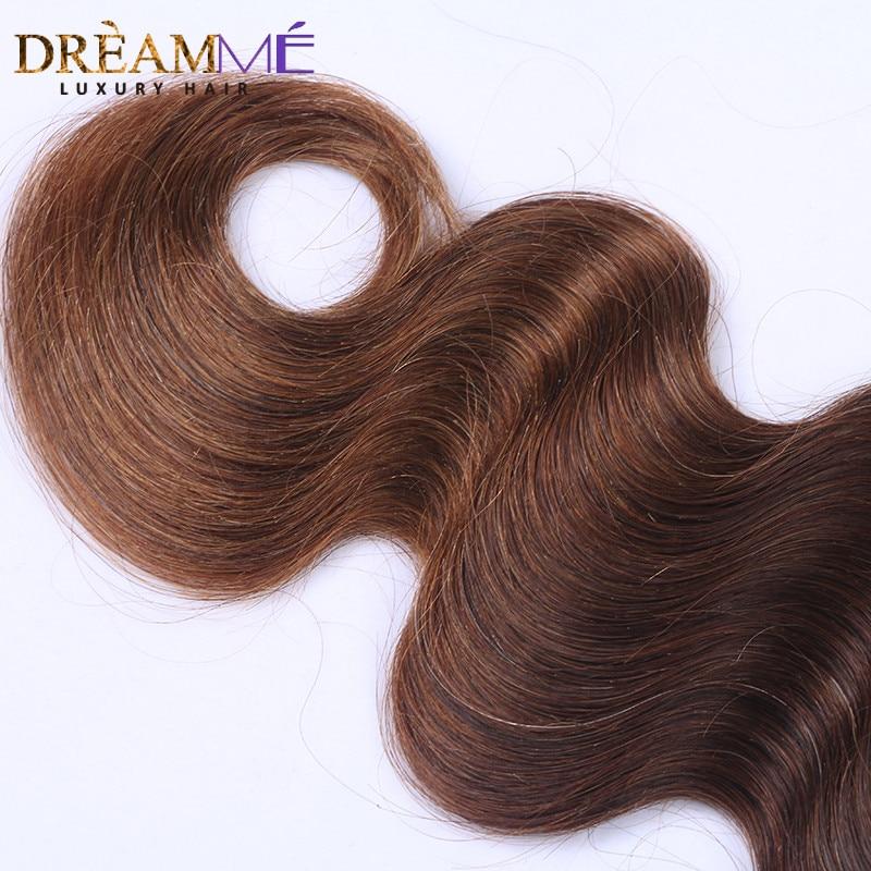 # 1B / 4/30 Barva Body Wave 3 snopi Ombre Brazilski človeški lasje - Človeški lasje (za črne) - Fotografija 4