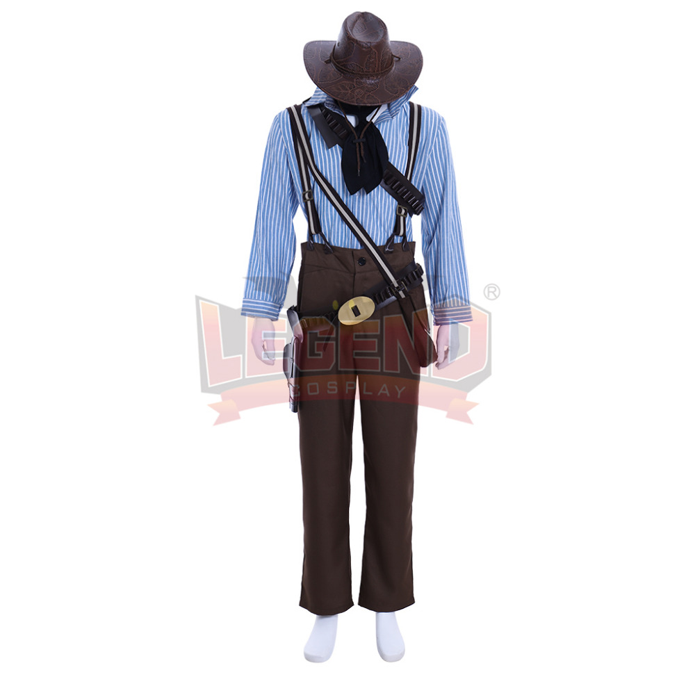 Cosplaylegend Game Red Dead Redemption 2 Authur Morgan adult costume all size custom made