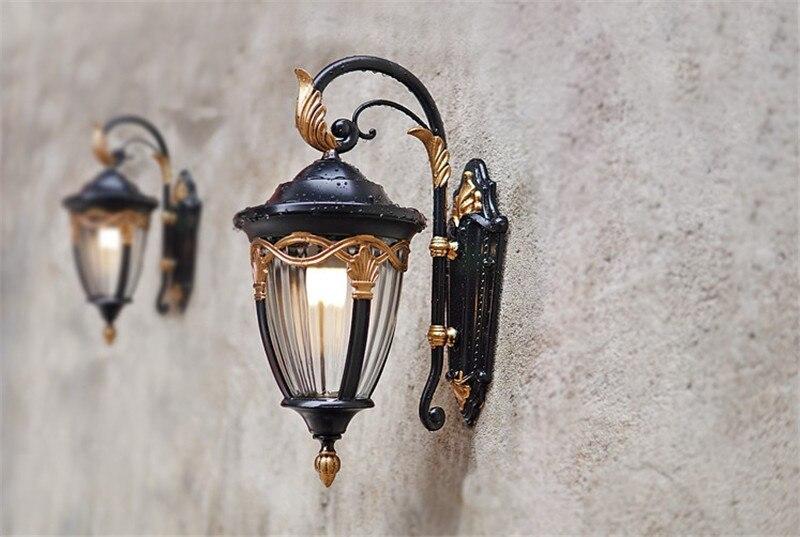 led arandela iluminação para varanda corredor luminária