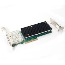 X710-DA4 FH 4 SFP+ порты Ethernet конвергентный сетевой адаптер CNA/NIC