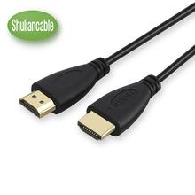 Shuliancable szybki Przewód HDMI z Ethernetem obsługuje 1080p 3D i Audio Return 0 3 m 1M 1 5 m 2m 3m 5m 7 5 m 10M tanie tanio Głośnik projektor telewizor aparat fotograficzny komputer wzmacniacz odtwarzacz DVD mikrofon multimedia TV BOX monitor odtwarzacz MP3 MP4