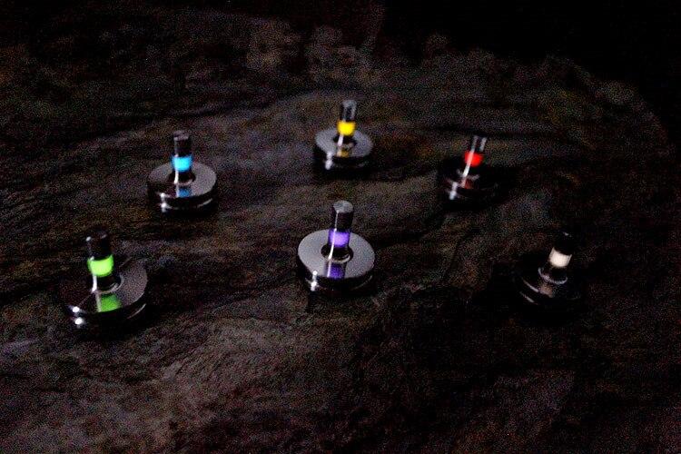 С трития трубка латунь/Титан EDC гироскопа создания Игрушечные лошадки трития трубка Версия EDC Мульти Инструменты
