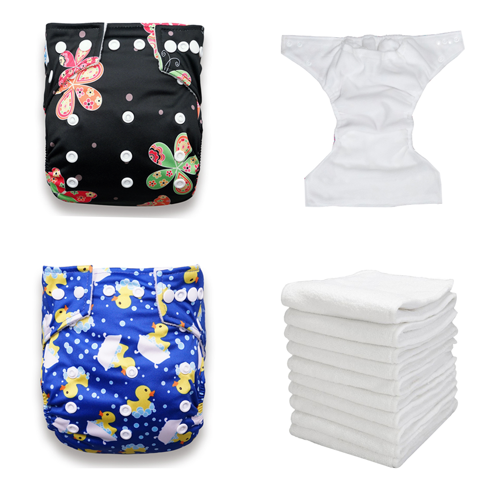 Onsale BABYLAND 30 Units Newest Patterns My Pick Recycle Washable Reusable Baby Cloth Diapers With Microfiber