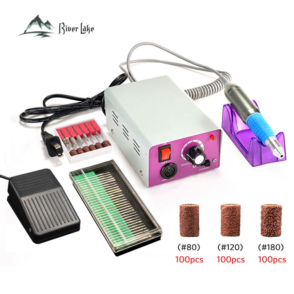 25000rpm Professional Electric Nail Manicure Machine Drill art Pen Pedicure File Polish Shape Tool Feet Care Product 25000rpm powder electric nail drill pen stainless manicure machine replace handle pen pedicure polish tool nail art manicure