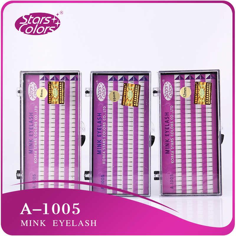 Wholsesale Preis 20 trays 3 flares 4 linien Nerz wimpern Natürliche falsche Locken C Handmade Synthetische Haar wimpern bilden werkzeug