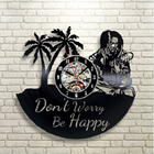 Creative 3D Wall Clock Vintage Vinyl Record Clock Black CD Quartz Clock Large Wall Clocks Home Decor Unique Gifts