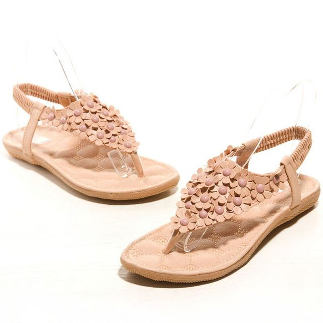 New Brand Women Sandals Fashion Bohemia Women Shoes Flower Sandalias Femininas Flats Casual Fashion Shoes Women Size 35-39