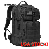 REEBOW TACTICAL Military Molle Assault Backpack Waterproof Bug Out Bag Army Rucksack For BACK TO SCHOOL