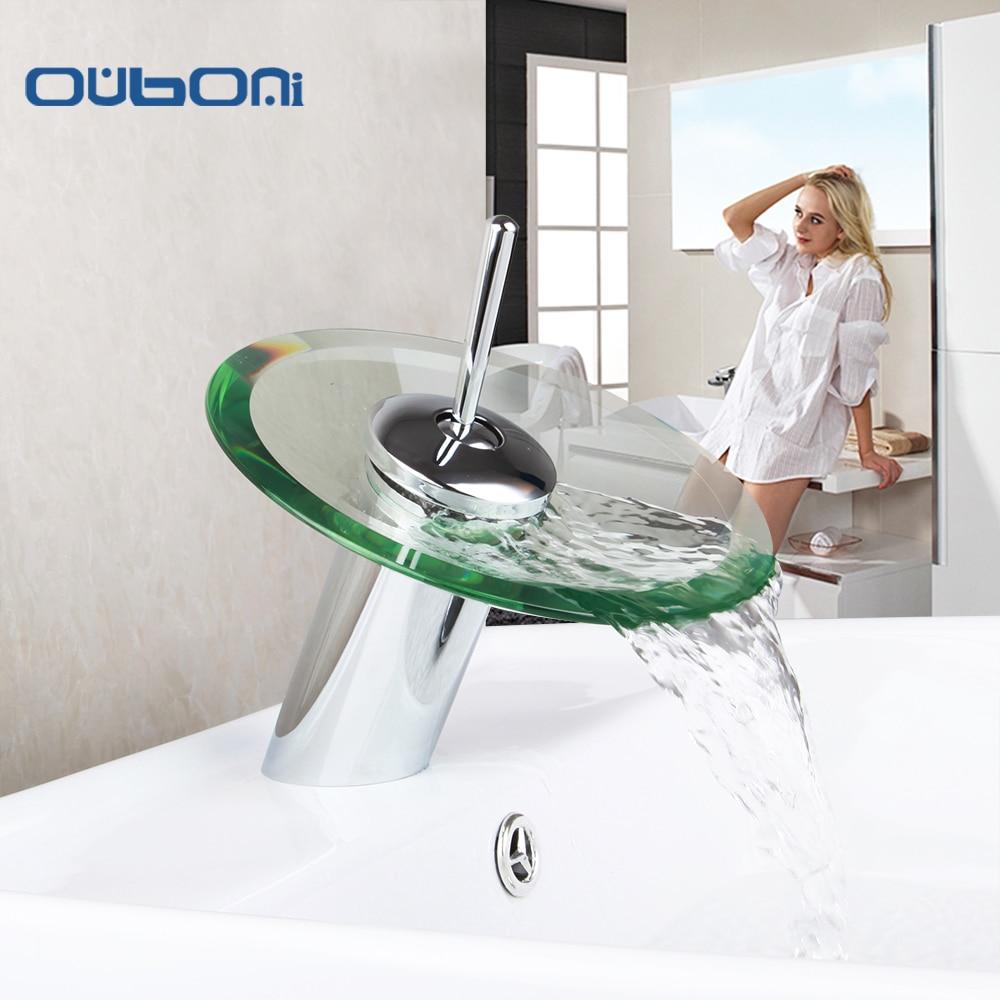 Bathroom Faucets Glass Handles bathroom faucet with glass handles promotion-shop for promotional