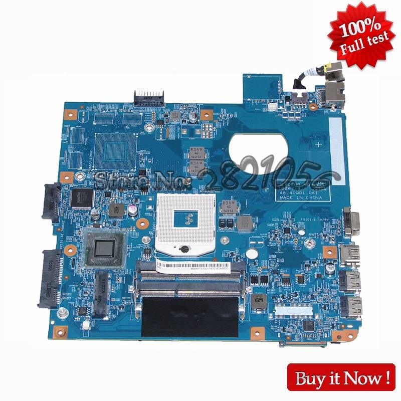 NOKOTION laptop motherboard For acer aspire 4752 4755 JE40 HR MB 10267-4 48.4IQ01.041 HM65 DDR3 MBRPT01001 MB.RPT01.001 original laptop motherboard fit for acer aspire 8920g mbap50b001 6050a2184601 mb a02 965pm ddr3 fully tested
