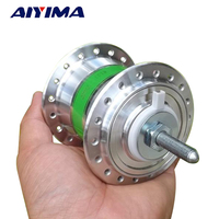 Aiyima Shared Bicycle Generator Motor 5V Regulator 6V 2.4W DC Generator Bike Flower Drum Generator