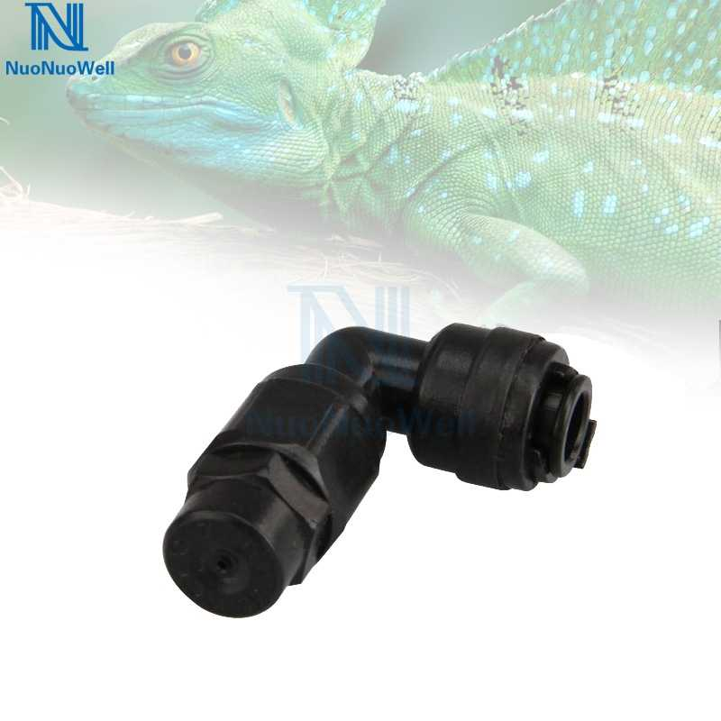 NuoNuoWell 1/4'' Pipe Tee Elbow Quick Connector End Cap