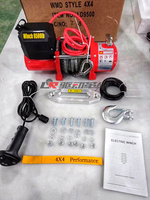 Off Road Car Styling 9500LBS Winch Accessories