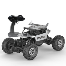 Flytec 9118 1/18 Alloy Body Shell Crawler RC Buggy Car 2.4G 4WD High Speed Climbing Car