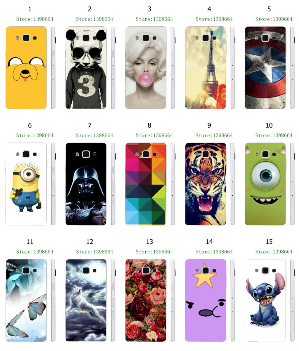 Pics photos batman logo evolution design for samsung galaxy case - Stitch Batman Tiger Star Wars Hybrid Retail 1pc 15designs New Hot Design White Hard Cases For Samsung Galaxy A5