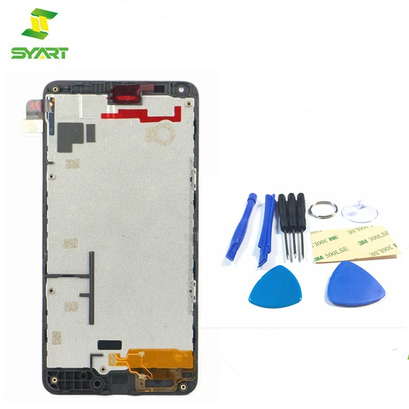 SYART Black 5.0 For Microsoft Nokia Lumia 640 LCD Display with Touch Screen Digitizer As ...